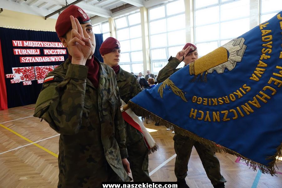 VII Międzyszkolny Turniej Pocztów Sztandarowych 13.04.2018