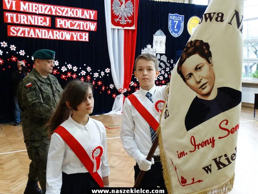 VI Międzyszkolny Turniej Pocztów Sztandarowych w Kielcach