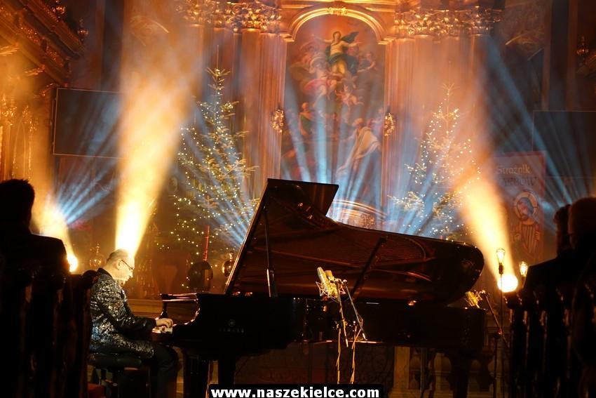 Koncert Włodka Pawlika w kieleckiej katedrze 23.12.2017