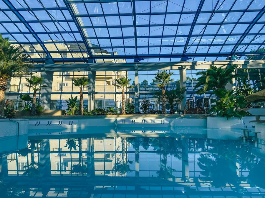 Basen Tropikalny Binkowski Resort napełniony wodą 12.09.2020