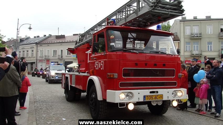 Wojewódzkie obchody Dnia Strażaka w Kielcach. Będzie defilada i grochówka