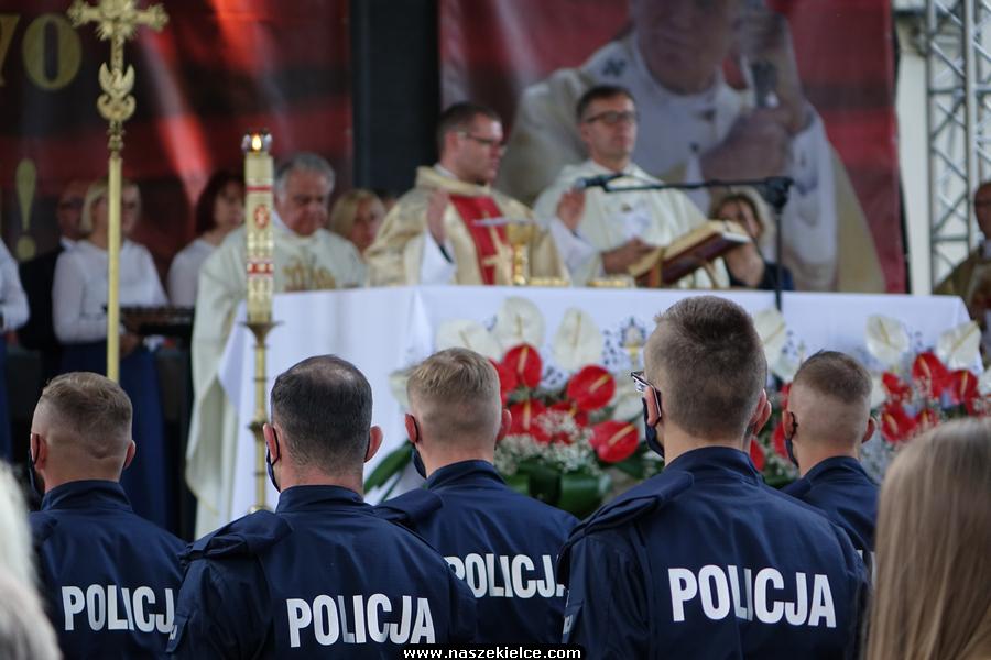 Świętokrzyskie obchody Święta Policji w Kielcach 21.07.2020