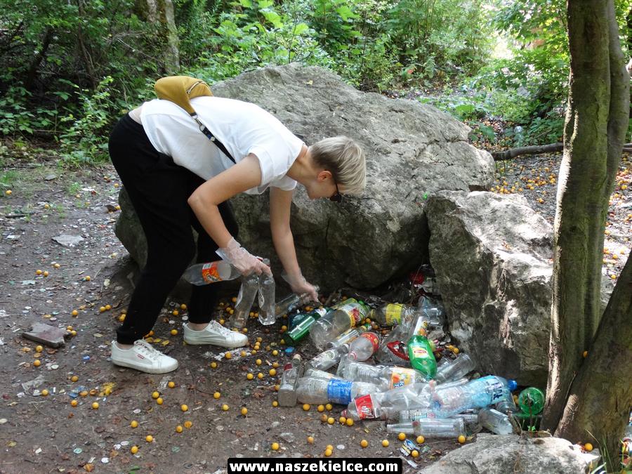 Wspólne sprzątanie Kadzielni 17.08.2019