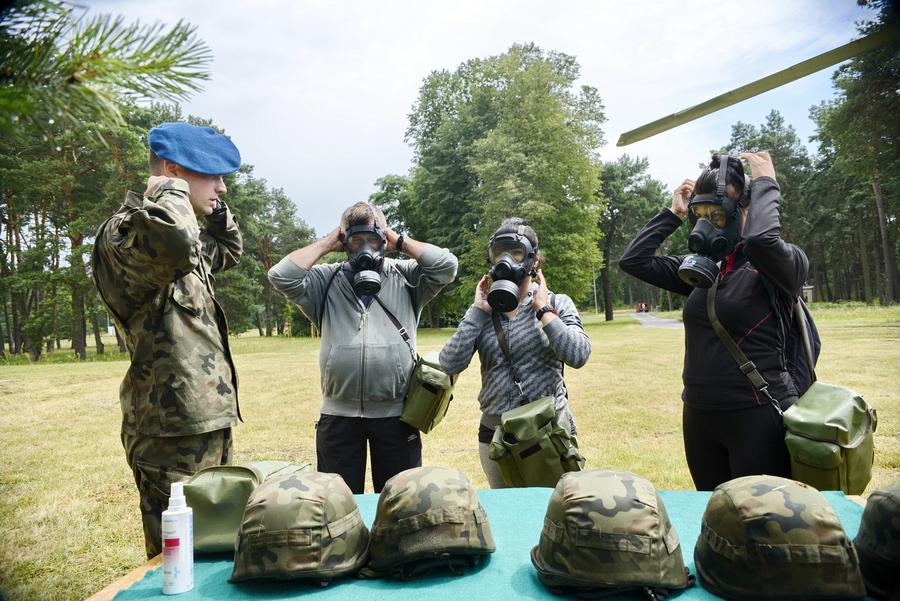 Wojskowe wyzwanie na Bukówce 13.07.2019